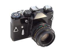 Free Old Style Photo Camera Stock Image - 16833641