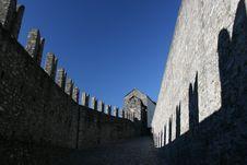 Free Belinzona Castles Stock Photography - 16833892