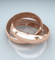 Free Golden Ring Royalty Free Stock Photo - 16834385