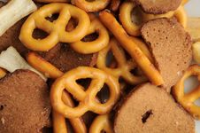Free Pretzel Bread Mix Royalty Free Stock Photos - 16834418