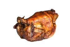 Free Roast Chicken, Isolated On White, With Brown Crust Stock Photos - 16834553