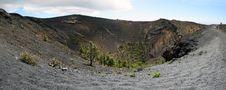 La Palma Volcano  San Antonio Royalty Free Stock Photo