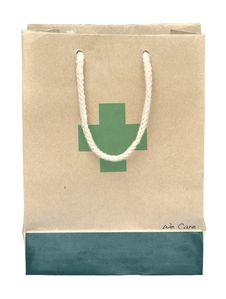 Free Medicine Paper Bag Stock Image - 16835101