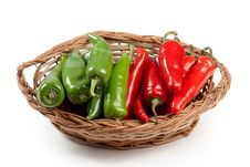 Free Red And Green Chili Stock Photos - 16835673