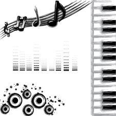 Free Music Background Stock Photos - 16835793