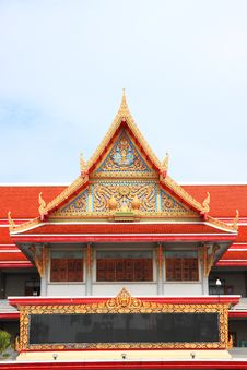 Free Building Of Buddha Style. Royalty Free Stock Photos - 16835838