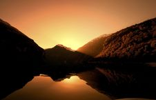 Free Geiranger Sunset Stock Images - 16835844
