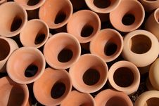 Free Clay Pots Royalty Free Stock Image - 16835876