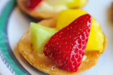 Free Healthy Fruit Tarts Stock Photos - 16836003