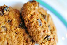Free Macro Of Cookie Texture Royalty Free Stock Photos - 16836018