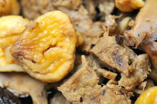 Free Chestnut And Mutton Pieces Stock Photos - 16836103