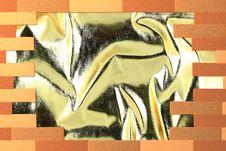 Free Golden In Break Wall Royalty Free Stock Photos - 16836118