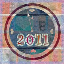 Free Happy New Year 2011 Stock Photography - 16836142
