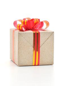 Free Gift Box Royalty Free Stock Photo - 16836205