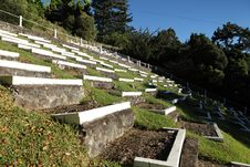 Free South African Boer War Graves On St Helena Island Stock Photography - 16836442
