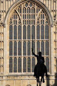 Free Statue Of Richard I, Westminster, London Royalty Free Stock Image - 16836676