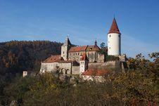 Free Krivoklat Castle In Autumn Stock Photos - 16837713