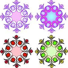 Free Circular Patterns Royalty Free Stock Photo - 16837905