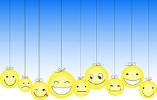 Free Smileys Royalty Free Stock Photos - 16837948