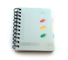 Free Notebook Royalty Free Stock Photo - 16838355
