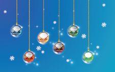 Free Christmas Balls Stock Photography - 16838392