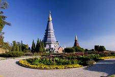 Free Intanon Moutain, Chiangmai, North Of Thailand Stock Photography - 16838822