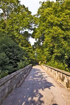 Free Romantic Bridge In Bavaria Royalty Free Stock Photography - 16839017