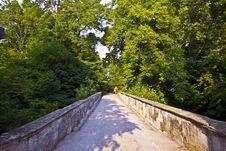 Free Romantic Bridge In Bavaria Stock Photo - 16839160