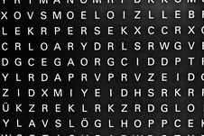 Free Letter At The Wall Royalty Free Stock Images - 16839419