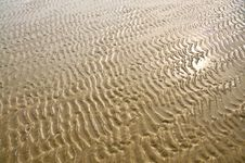 Free Sand Pattern Royalty Free Stock Image - 16839626