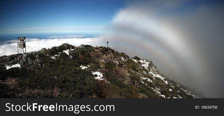 Fogbow in La Palma