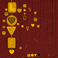 Free Love Concept Background Royalty Free Stock Images - 16842519