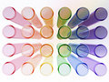 Free Multi Colour Test Tubes Stock Photos - 16845173