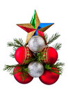 Free Baubles And Holly Royalty Free Stock Photo - 16847345