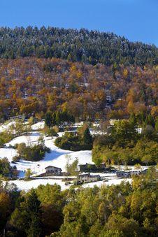 Free Autumn Landscape Stock Image - 16840131