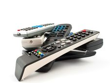 Free TV Remote Royalty Free Stock Image - 16840556