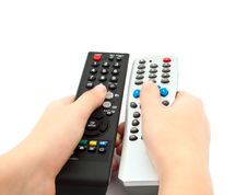Free TV Remote Royalty Free Stock Photos - 16840568