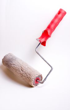 Free Used Paint Roller Stock Image - 16840671