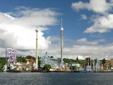 Free Amusement Park (Stockholm, Sweden) Royalty Free Stock Photos - 16841168