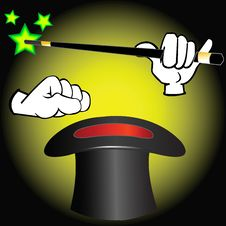 Free Magician Equipment. Stock Image - 16841281