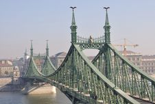 Free Freedom Bridge In Budapest Stock Photos - 16842153