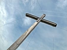 Free Summit Cross Stock Photography - 16842182