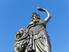 Free Bavaria Statue Royalty Free Stock Photo - 16842425