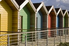 Free Beach Huts Royalty Free Stock Photos - 16842808