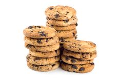 Free Three Stacks Cookies Stock Photography - 16843042