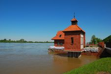 Free The Flood At Wisla River Stock Photos - 16843053