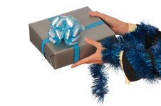 Free Present For Christmas Royalty Free Stock Photo - 16843125