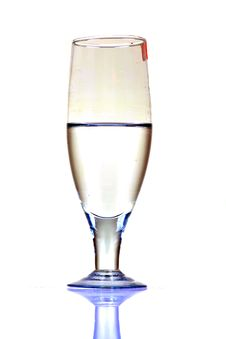 Free White Wine Glass Royalty Free Stock Photo - 16843655