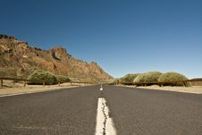 Free Road In Tenerife Stock Photography - 16844472