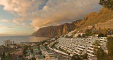 Free Panorama Of Los Gigantes Stock Images - 16844684